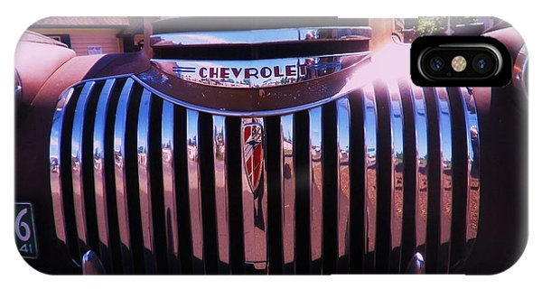 Chevrolet Chrome IPhone Case