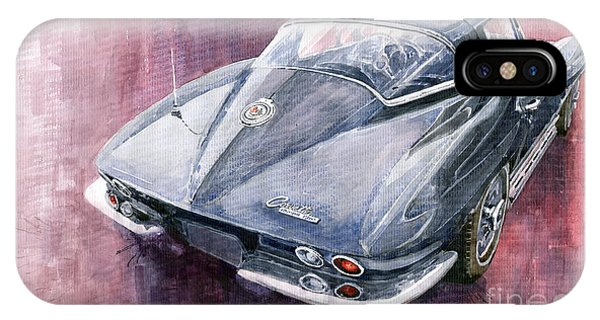 Chevrolet Corvette Sting Ray 1965 IPhone Case