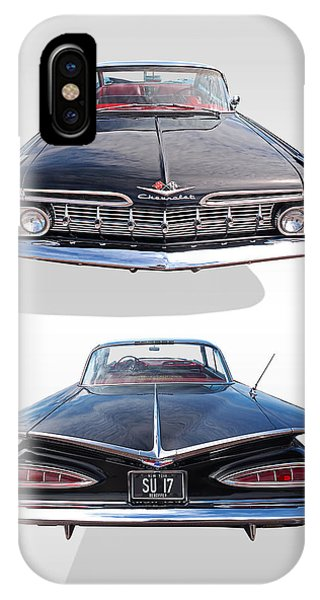 Chevrolet Impala 1959 Front And Rear IPhone Case