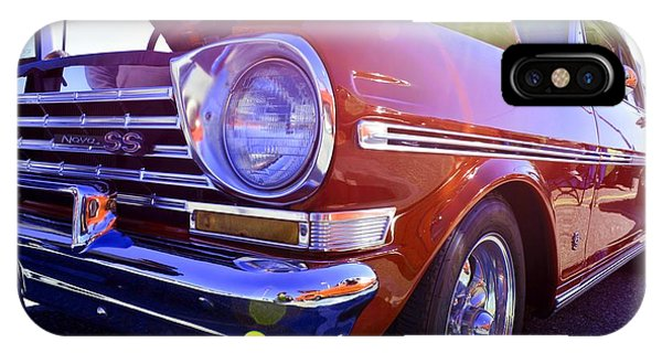 Chevrolet Red Phone Case by LLaura Burge