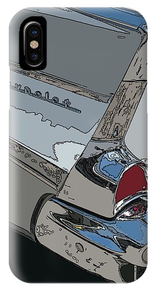 Chevrolet Tail Fin IPhone Case
