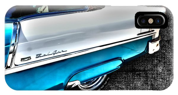 Chevy Bel Air Art 2 Tone Side View Art 1 IPhone Case