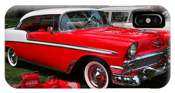 Chevy Bel Air In Red IPhone Case