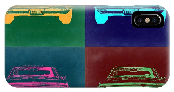Chevy Camaro Pop Art 2 IPhone Case