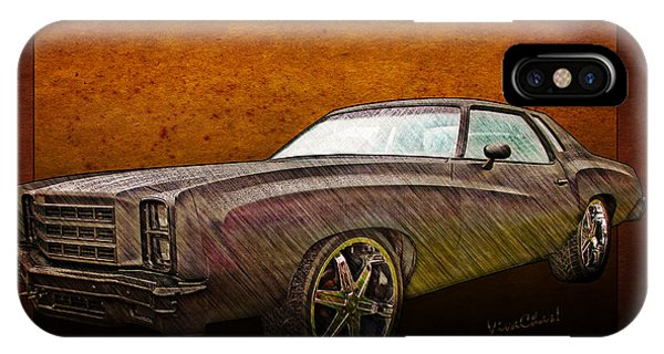Chevy Monte Carlo Poster IPhone Case
