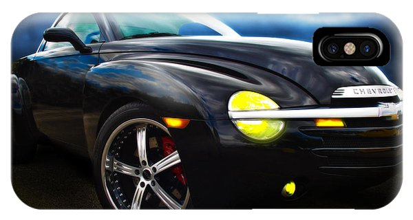 Chevy Ssr Night Life Hot Rods Live Lives All Their Own IPhone Case