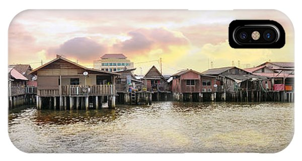 Chew Jetty Heritage Site In Penang IPhone Case