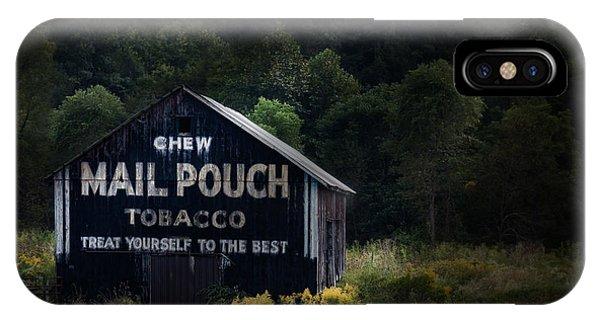 Greenery iPhone Case - Chew Mailpouch by Tom Mc Nemar