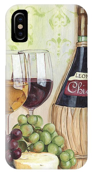 Beverage iPhone Case - Chianti And Friends by Debbie DeWitt