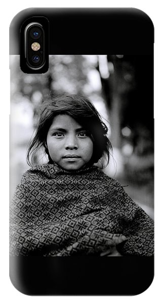 Chiapas Girl IPhone Case