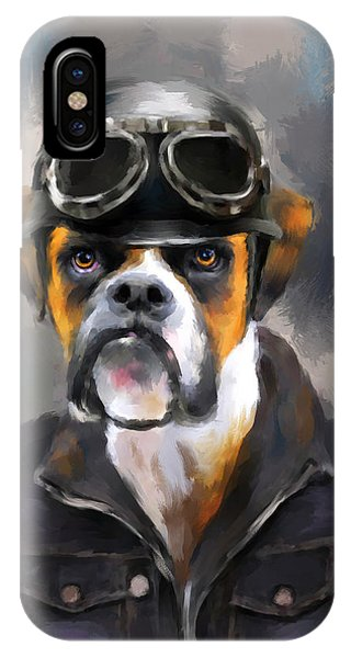 Chic Boxer Aviator IPhone Case