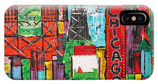 Chicago - City Of Fun - Sold IPhone Case