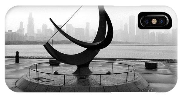 Chicago Adler Planetarium City View IPhone Case