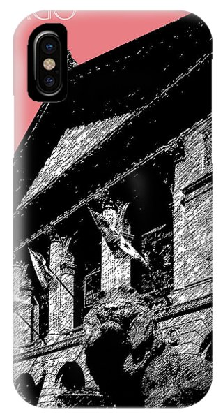 Chicago Art iPhone Case - Chicago Art Institute Of Chicago - Light Red by DB Artist