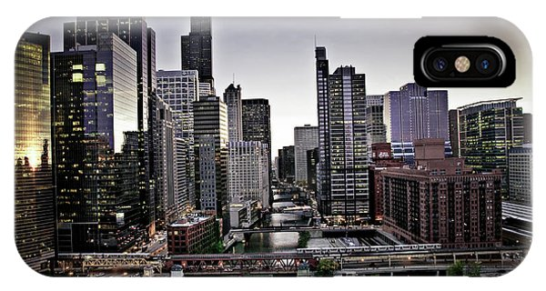 Chicago At Dusk IPhone Case