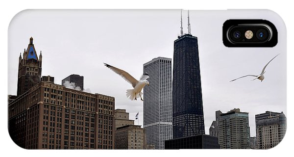 Chicago Birds 2 IPhone Case