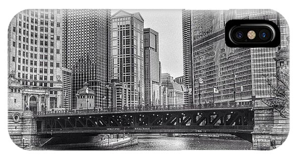 City iPhone Case - #chicago #blackandwhite #urban by Paul Velgos