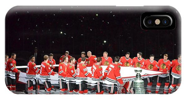 Chicago Blackhawks And The Banner IPhone Case