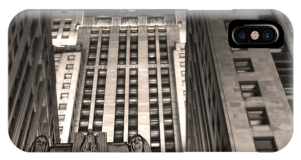 Chicago Board Of Trade Building 03 IPhone Case