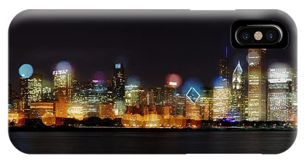 Chicago Bokeh IPhone Case