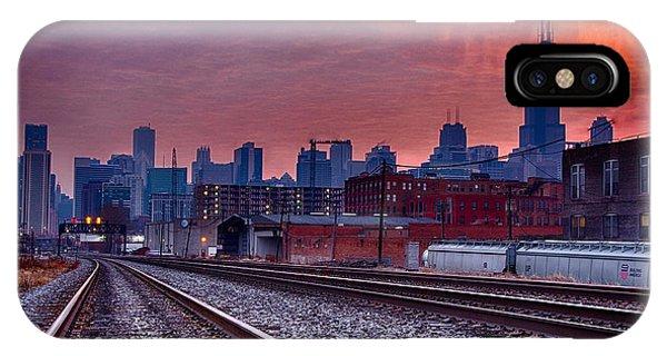 Chicago Bound 12-2-13 Sunrise  Phone Case by Michael  Bennett