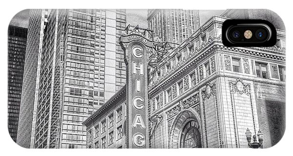 City iPhone Case - #chicago #chicagogram #chicagotheatre by Paul Velgos
