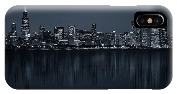Chicago River iPhone Case - Chicago by C.s. Tjandra