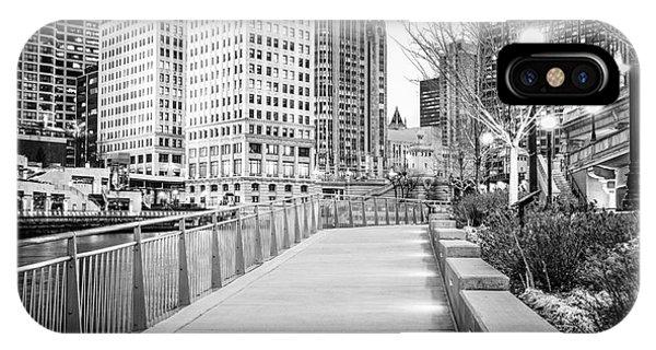 Chicago Downtown City Riverwalk IPhone Case