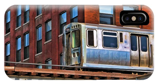 Illinois iPhone Case - Chicago El And Warehouse by Christopher Arndt