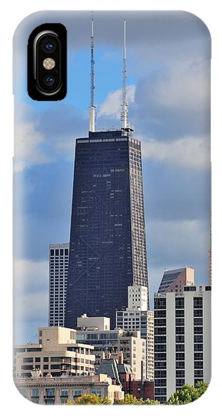 Chicago Hancock Building IPhone Case