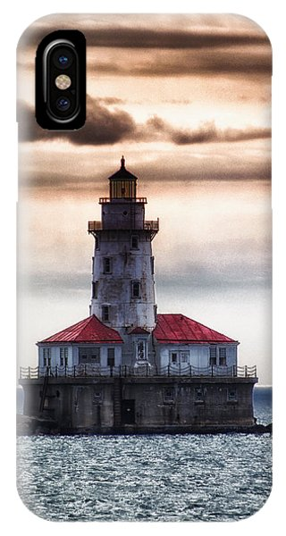 Chicago Lighthouse 3 Phone Case by Christopher Muto