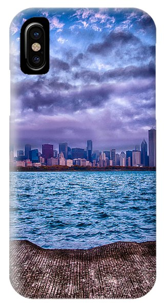Chicago Lost In The Clouds IPhone Case