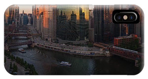Chicago River iPhone Case - Chicago On The River by Steve Gadomski