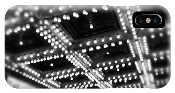 Movie iPhone Case - Chicago Oriental Theatre Lights by Paul Velgos