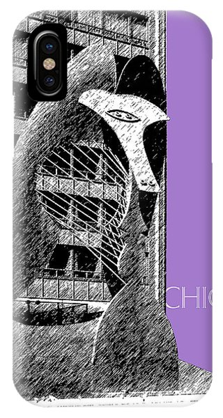 Chicago Pablo Picasso - Violet IPhone Case