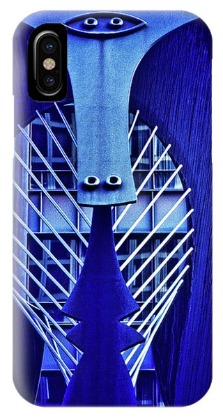 Art And Craft iPhone Case - Chicago Picasso Sculpture, Chicago by Panoramic Images