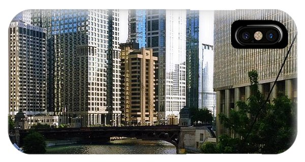 Chicago River IPhone Case