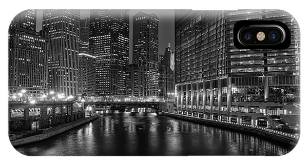 Chicago Riverwalk IPhone Case