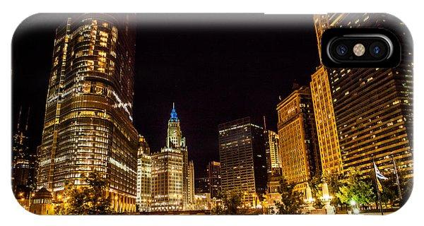 Chicago Riverwalk IPhone Case