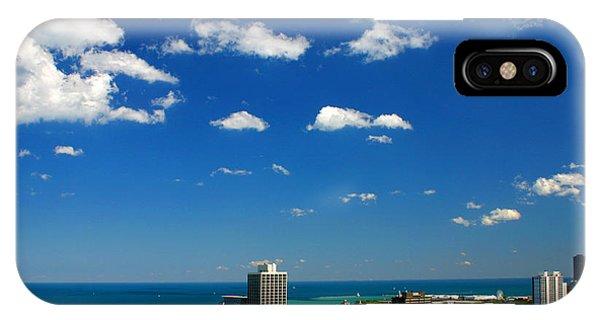 Chicago Skyline Big Sky Lake IPhone Case