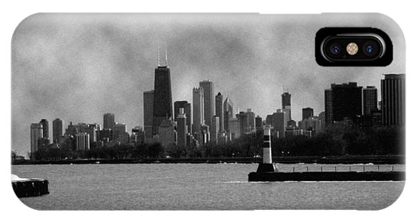 Chicago Skyline IPhone Case
