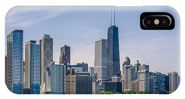 Chicago Skyline North View IPhone Case