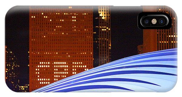 Chicago Skyline Orb IPhone Case
