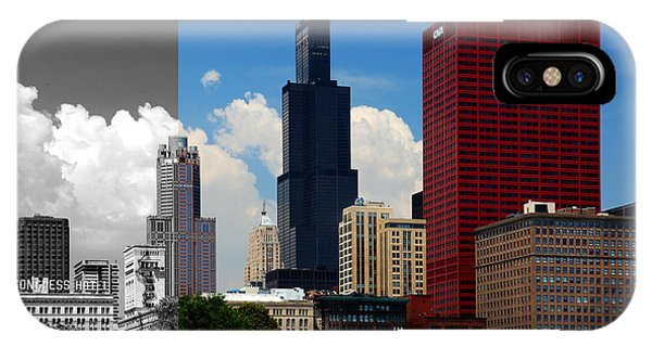 Chicago Skyline Sears Tower IPhone Case