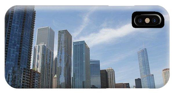 Chicago Skyscrapers IPhone Case