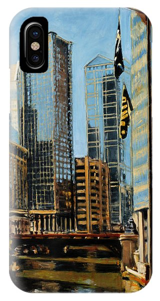 Chicago - The River From The East IPhone Case