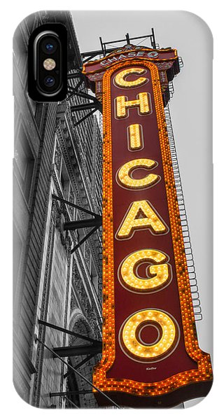 Chicago Theater Selective Color IPhone Case