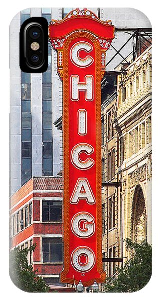 Chicago Theatre - A Classic Chicago Landmark IPhone Case