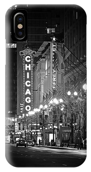 Chicago Theatre - Grandeur And Elegance IPhone Case