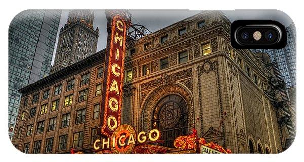 Chicago Theatre Hdr IPhone Case
